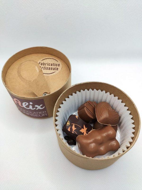 Boîte d'assortiment de chocolats pour découverte