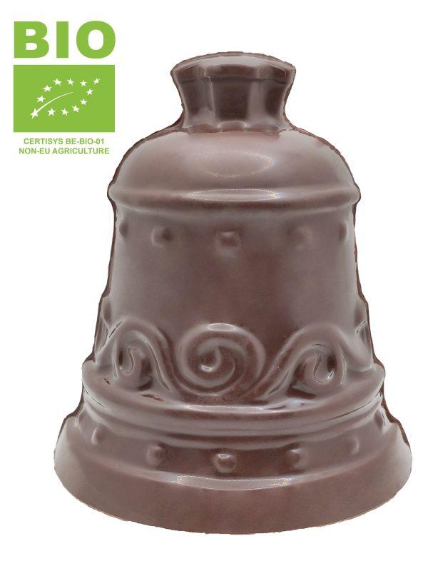 Cloche en chocolat noir