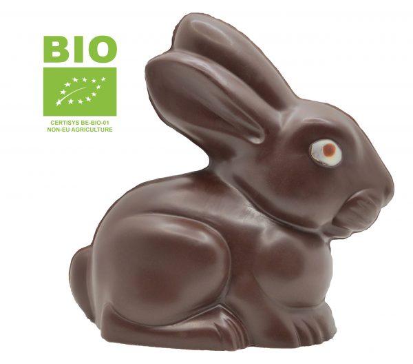 Petit lapin en chocolat noir